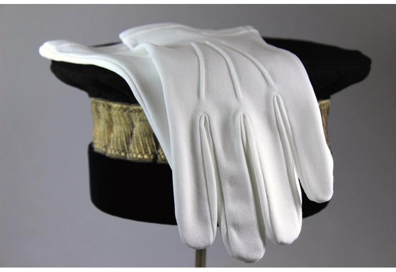 Gants blancs
