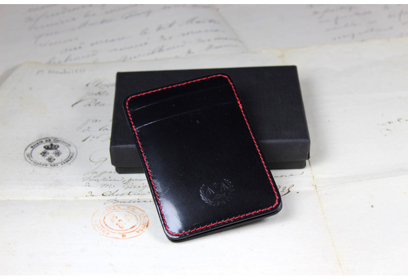 Black credit cards holder « magic »