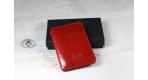 """Porte carte """"magic"""" rouge"""