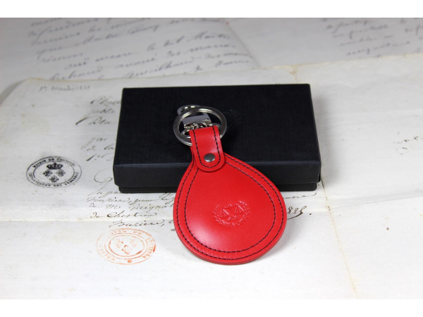 Red key ring