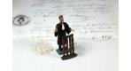 Figurine avocat homme
