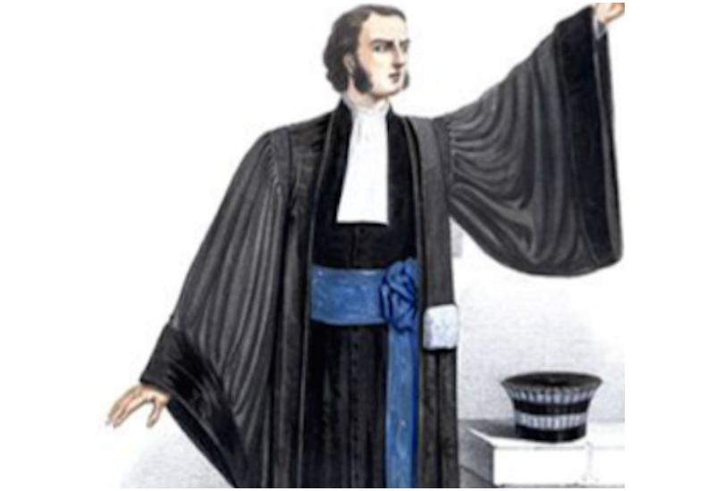 Judge's robe